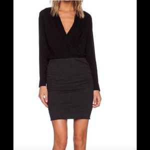 James Perse Black Long Sleeved Dress - Tag's On